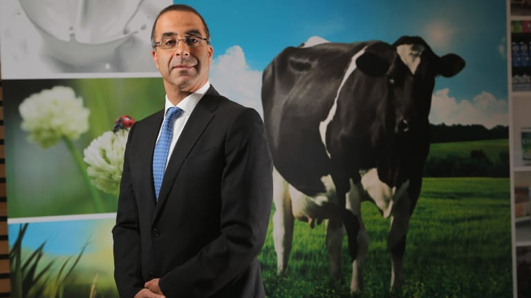 Off to greener pastures: Gary Helou resigned as Murray Goulburn's managing director.
