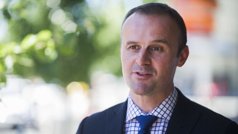 Reshuffle: ACT Chief Minister Andrew Barr is expected announce a cabinet reshuffle on Friday.