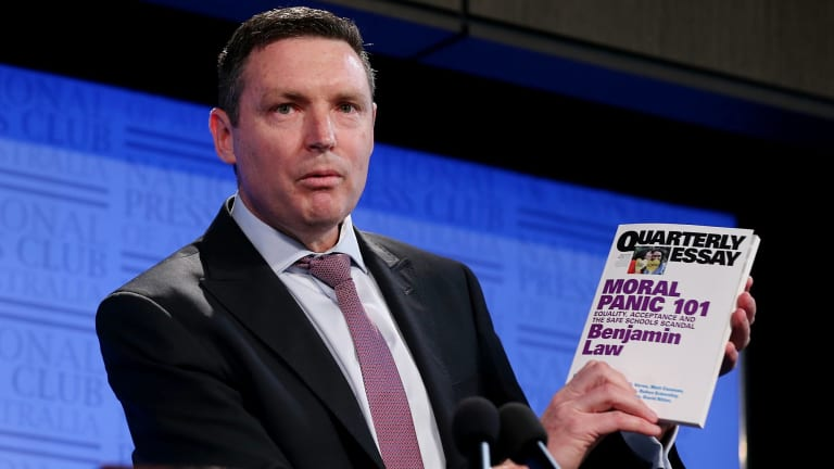 """We have a big job to do as a society to rebuild a marriage culture"": Lyle Shelton."