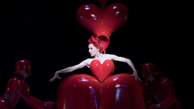 Amy Harris As The Queen Of Hearts