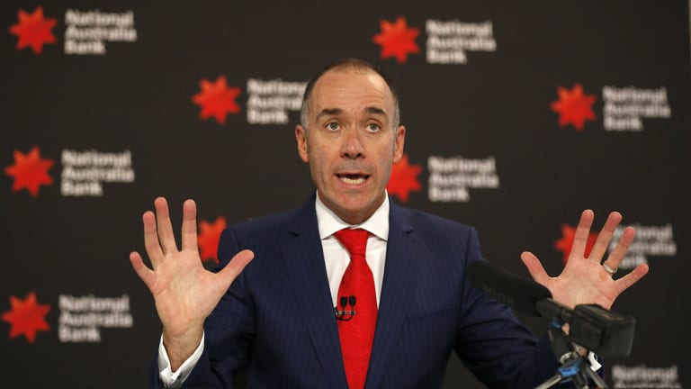 NAB chief executive Andrew Thorburn plans to spin off the bank's UK business this year.