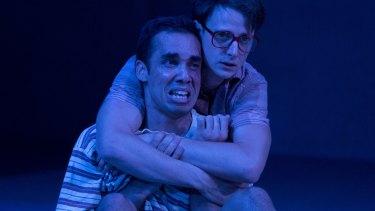 Jasper Jones - Guy Simon (Jasper Jones) and Tom Conroy (Charlie Bucktin). Photo credit: Lisa Tomasetti