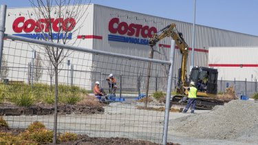 US wholesale giant Costco is eyeing Perth.