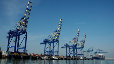 Adani's Mundra Port operation.