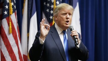 Donald Trump is 'essentially trolling the Republican Party'.