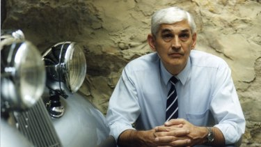 Ted Mack in 1993. As mayor, he was renowned for helping people fix plumbing, replace washers, put out the garbage and answering every letter with a personal visit.