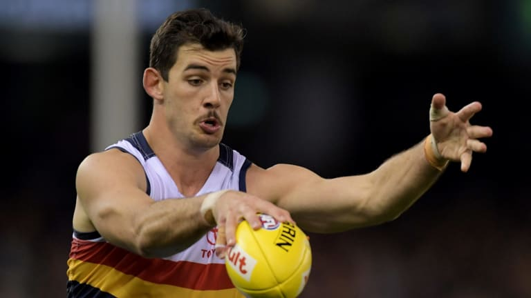 Adelaide captain Taylor Walker will miss Sunday's game with West Coast.