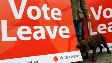 Leave won the day when the UK voted for Brexit.