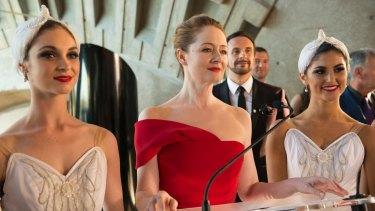Miranda Otto plays a ballet company's artistic director in <i>Dance Academy: The Movie</i>.