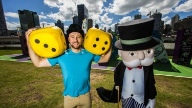 Brisbane Monopoly champion Tony Shaw is stoked his city will feature on the famous board game.
