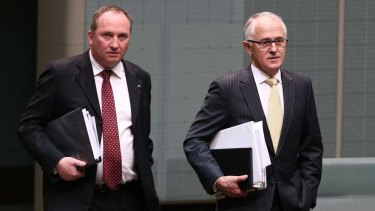 Barnaby Joyce could serve as deputy prime minister under Malcolm Turnbull.