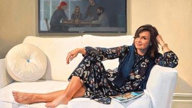 Peter Smeeth's portrait of Today show host Lisa Wilkinson.