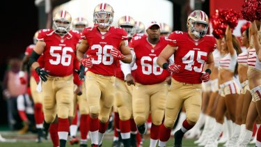 Outsiders: Jarryd Hayne and the San Francisco 49ers will find it tough going in the NFC West.