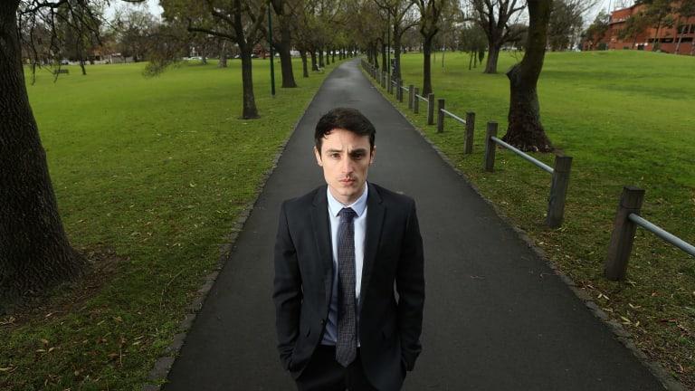Pharmacist Joshua Donelly wants ecstasy legalised.