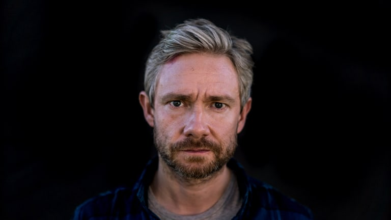 Martin Freeman stars as Andy in <i>Cargo</I>.