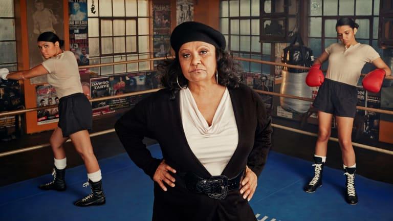 Marlene Cummins speaks out men's violence against women in her movie Black Panther Woman.