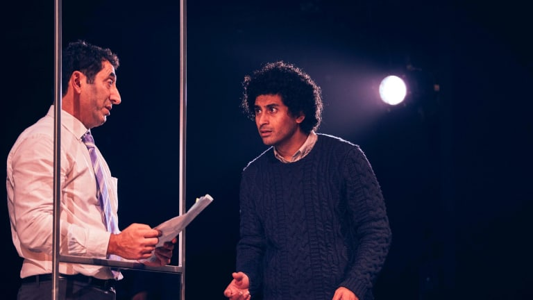 Osamah Sami and Rodney Afif in Good Muslim Boy.
