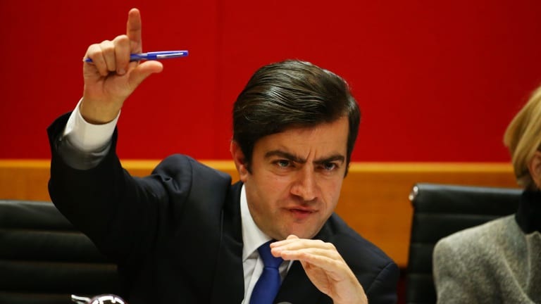 Labor senator Sam Dastyari has led the attack on corporate tax avoidance.