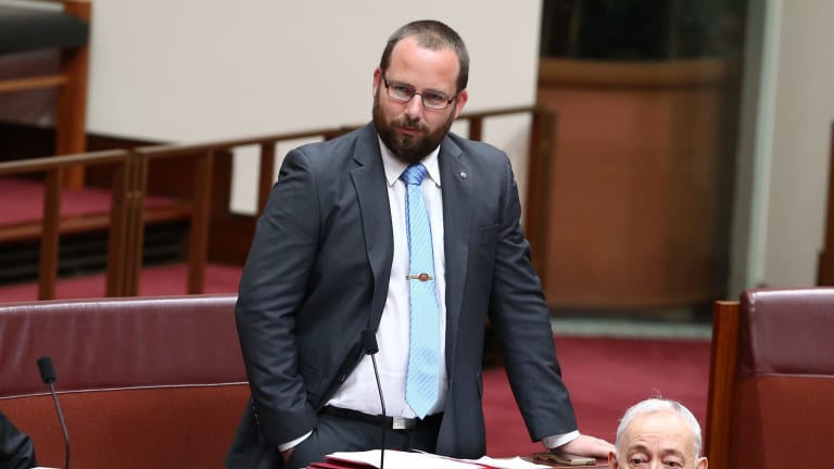 """""""I'm not angry, Greens senators. I'm just very, very disappointed."""""""