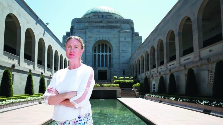 Australian War Memorial head of exhibitions Katherine McMahon.
