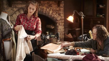 Kate Winslet and Judy Davis in <i>The Dressmaker</i>.