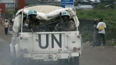 The peacekeeping mission in the Congo is the United Nations' largest.