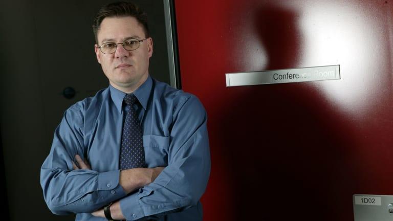 Australian Criminal Intelligence Commission boss Mike Phelan.