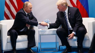 Trump got to experience Putin looking him in the eyes and lying, denying Russian interference in the election.