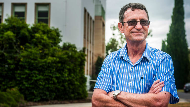 Andrew Noble is a former Canberran who now works to improve food security in fragile states overseas.