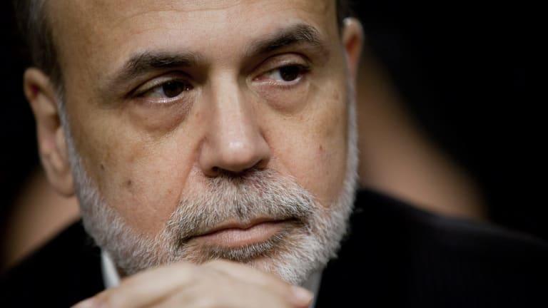 Former US Federal Reserve chairman Ben Bernanke.