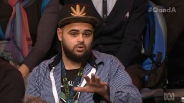 """Zaky Mallah: """"The Liberals have just justified to many Australian Muslims in the community tonight to leave and go to Syria and join ISIL because of ministers like him."""""""