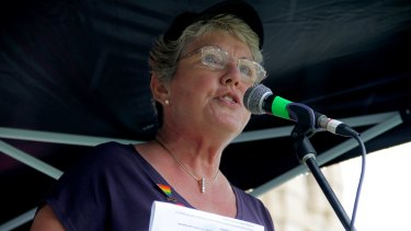Shelley Argent from Parents and Friends of Lesbians and Gays says civil celebrants and government employees should not be exempted from same-sex marriage laws.