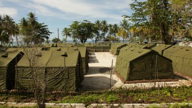 The Manus Island detention camp.