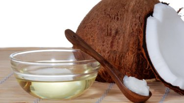 Coconut oil is often marketed as a health product, however it is high in saturated fat and should not be consumed regularly, nutrition experts say.