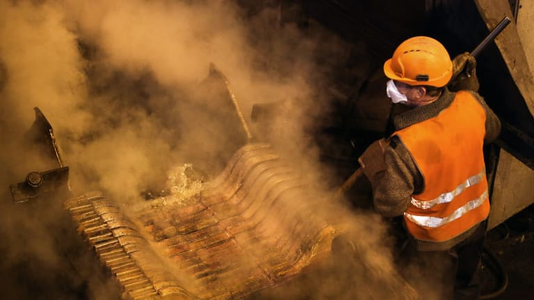 Nearly 50 per cent those employed in mining clock up 49 hours or more per week of work.