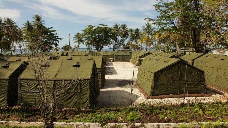 The Manus Island detention camp.
