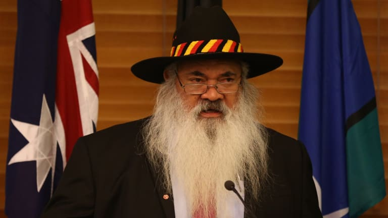 """The citizenship saga gets farcical with questions raised over the """"father of reconciliation"""", Pat Dodson."""