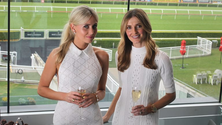 Anna Bamford (left) with Kate Waterhouse.