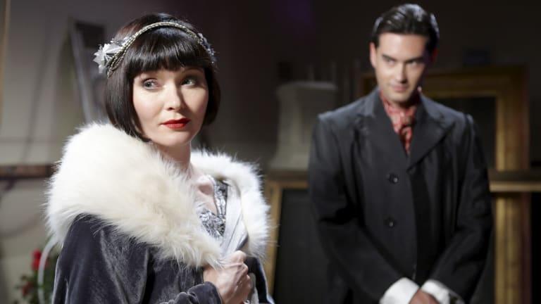Essie Davis as Miss Phryne Fisher in hit ABC series, Miss Fisher's Murder Mysteries.