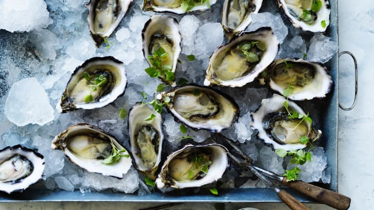 Spiked Oysters.