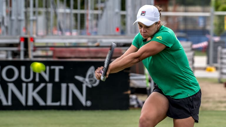 Australian No. 1 Ash Barty is in career-best form ahead of their crucial Fed Cup tie against the Ukraine.