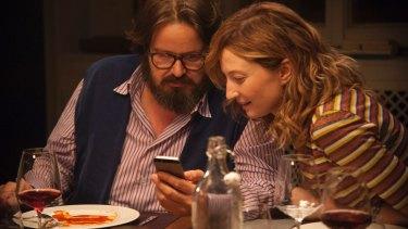 Giuseppe Battiston and Alba Rohrwacher in <i>Perfect Strangers</i>.