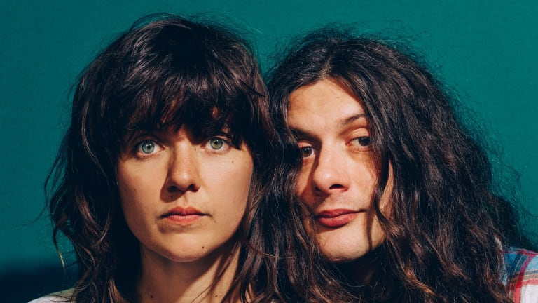 Courtney Barnett and Kurt Vile were smitten with each other.