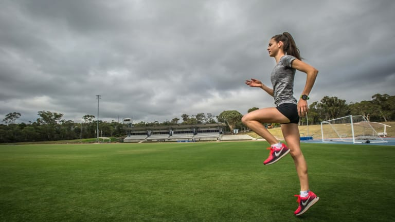 Keely Small, 16, will race at the Commonwealth Games trials this weekend.
