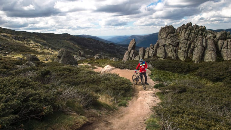 Tim Windshuttle said the extension of Thredbo's All-Mountain Bike Trail and the Thredbo Valley Track make it the longest purpose-built mountain bike descent