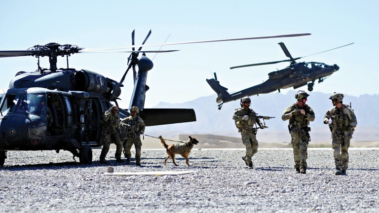 Australian forces' access to American air power made Uruzgan province a dangerous place for Taliban insurgents.