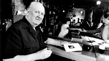 Journalist and double agent Richard Hughes in Sydney in 1955.