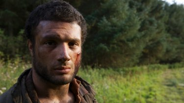 Cosmo Jarvis as the swaggering young groom Sebastian, Lady Macbeth's love interest.