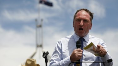 Barnaby Joyce, Deputy Prime Minister? There are apparently many who wake in fright at the prospect.