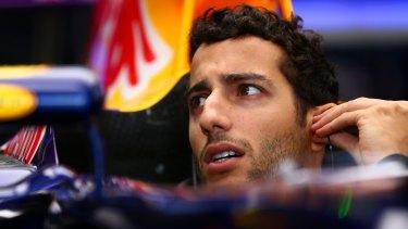 Daniel Ricciardo was disappointed to qualify in ninth.